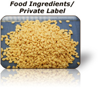 Food Ingredients/Private Label