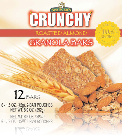 Northern Gold - Spencer's Crunchy Granola Bars: Roasted Almond